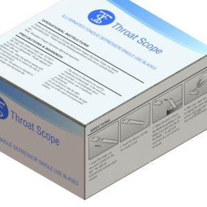 ThroatScope - Ανταλλακτικά Φωτιζόμενα Γλωσσοπίεστρα