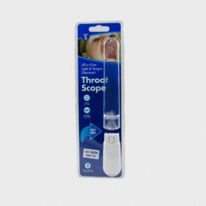 ThroatScope - Σετ Φωτιζόμενης Λαβής & Γλωσσοπίεστρα