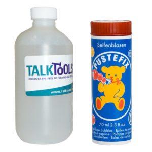 Φούσκες TalkTools με Ανταλλακτικό Υγρό