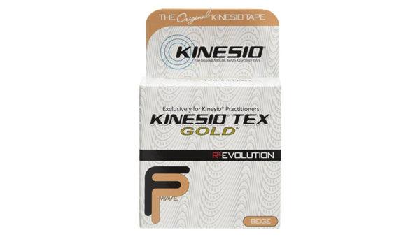 Αυθεντική Ταινία Kinesio® Tape FingerPrint Gold, Μπεζ