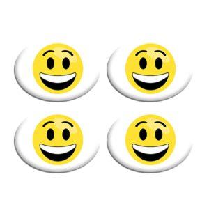 Σετ Συγκράτησης Αριθμού Αγώνα - Smiley Face