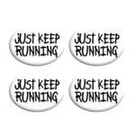 Σετ Συγκράτησης Αριθμού Αγώνα - Just Keep Running
